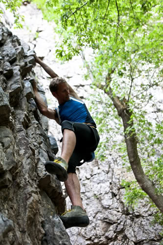 rock climbing in utah