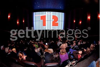 inside a theater during sundance film festival