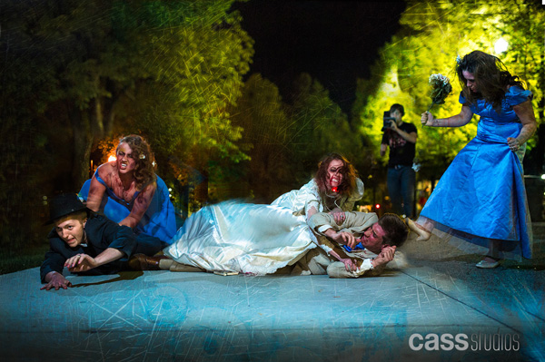 A1A1042 1zombieWedding The Wedding Dead... Zombie Zilla