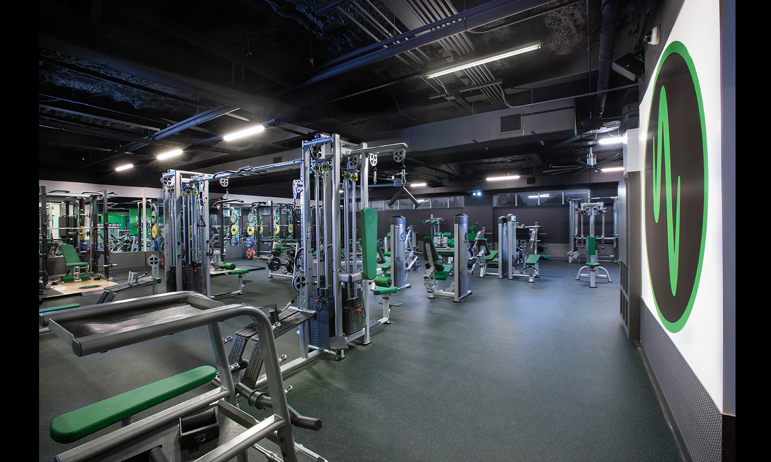 Gym interior Fitness