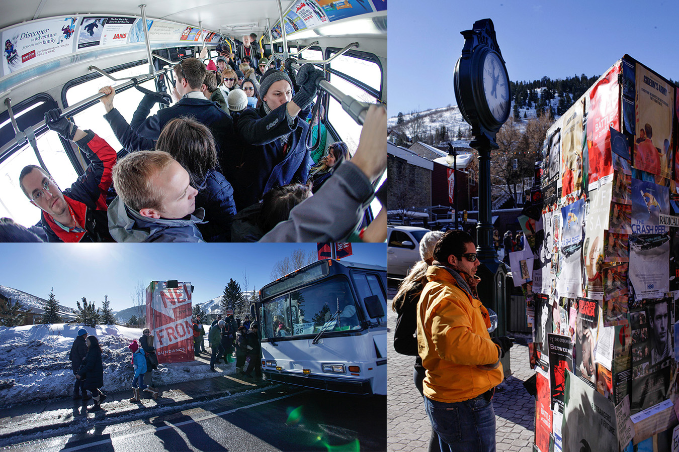 Sundance atmosphere bus posters Event Coverage