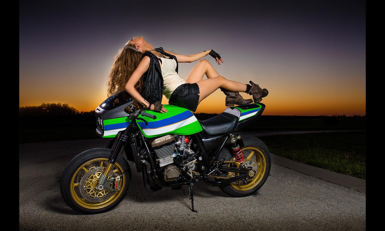 babe motorcyle longhair superbike Motorcycle Babes