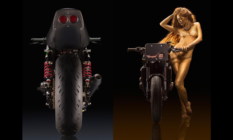 babe naked superbike Motorcycle Babes