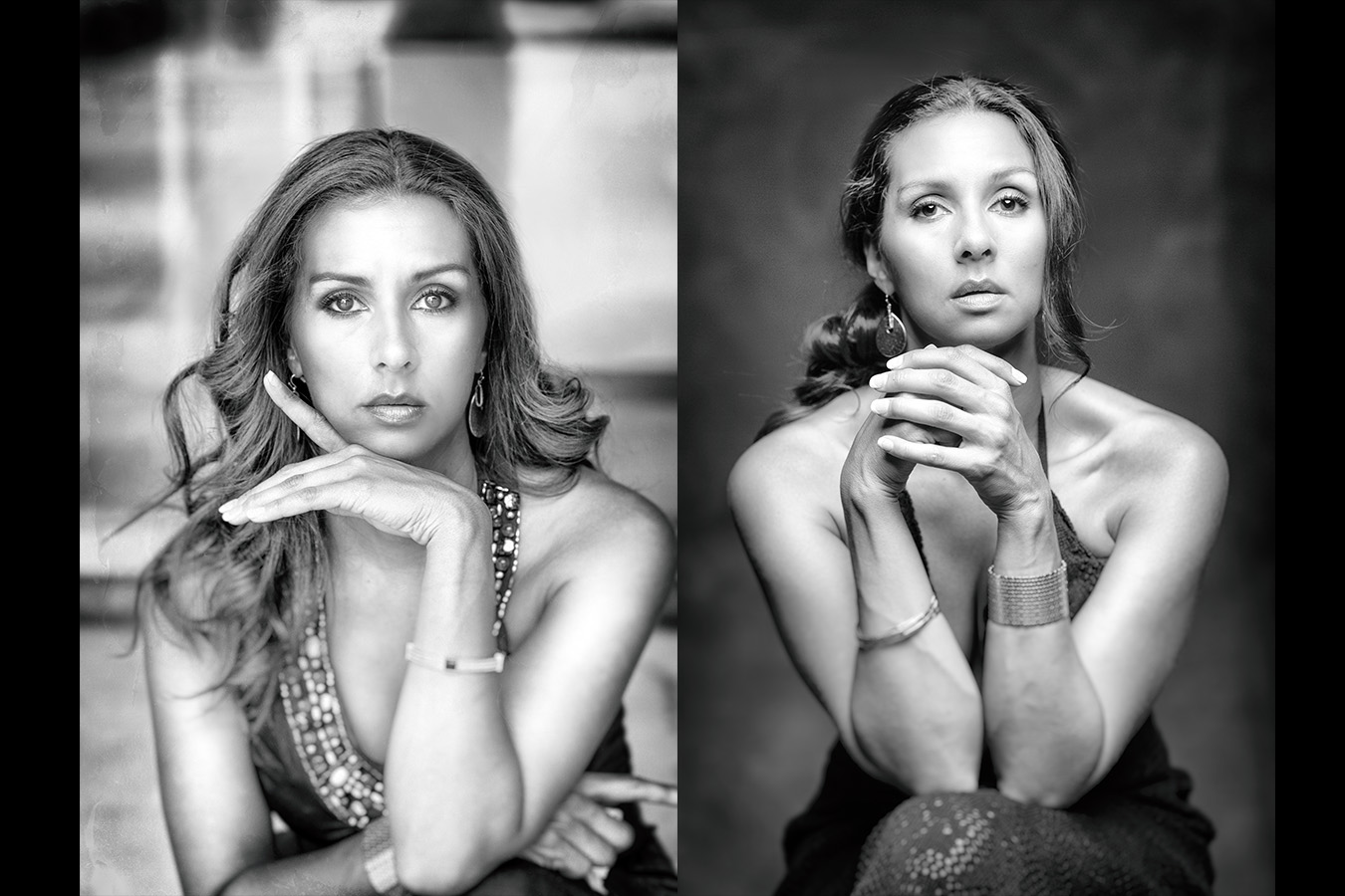 black White beauty photographer Portraits
