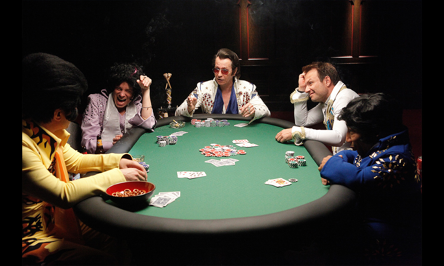 elvis playing poker Movie Stills