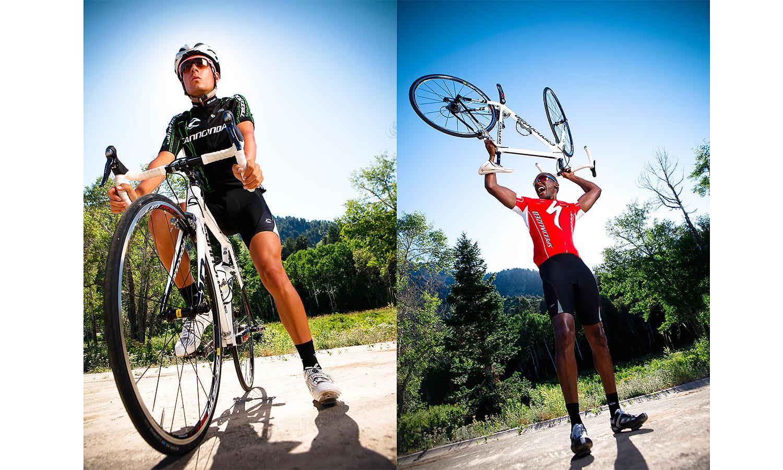 professional biker portraits Portraits