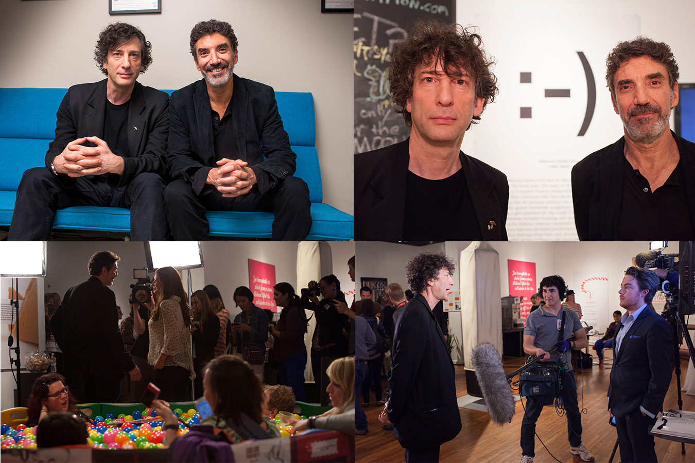 sxsw chuckLorre neil gaiman Event Coverage
