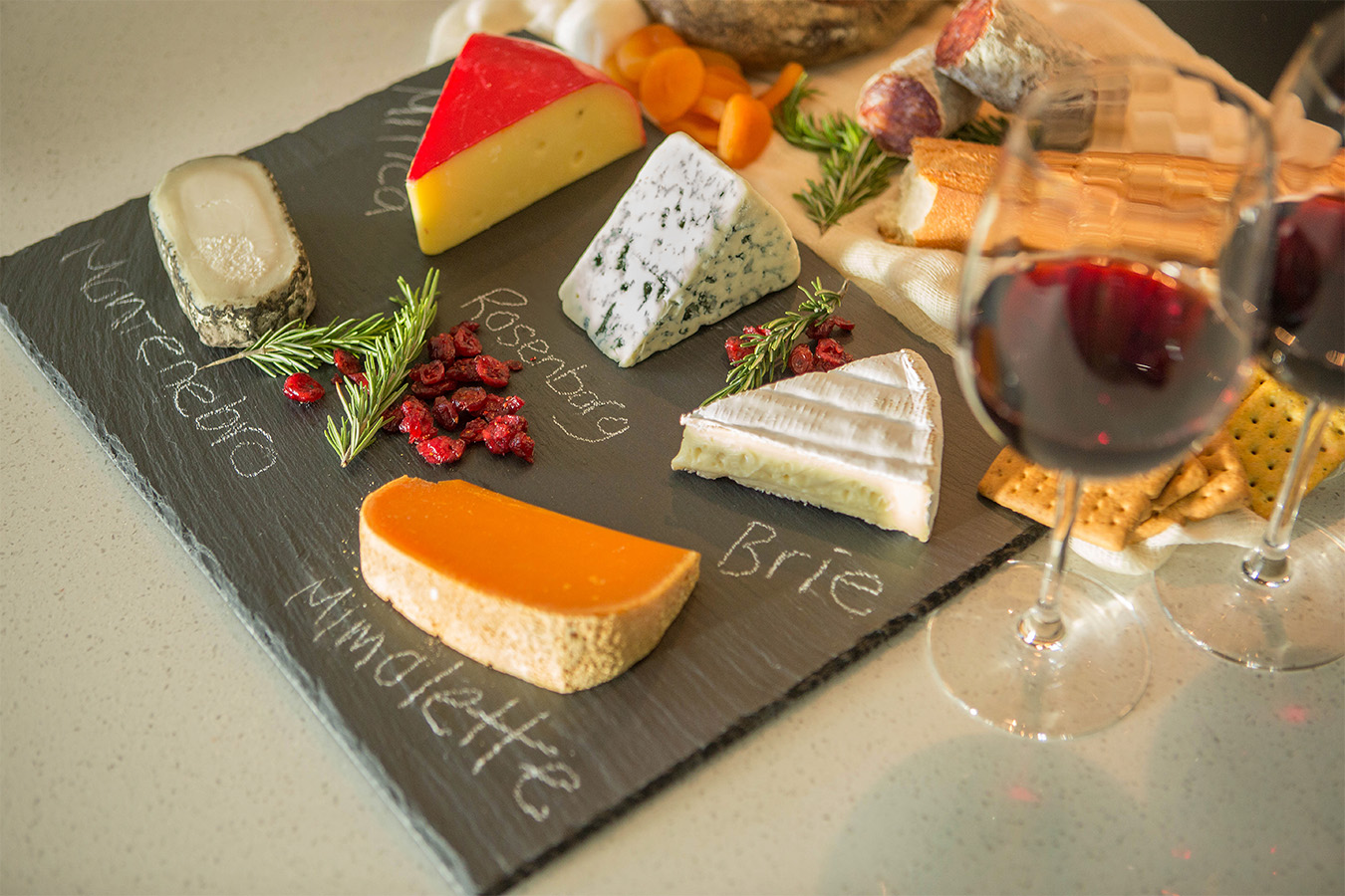 chalkboard cheeseplate product photography Product