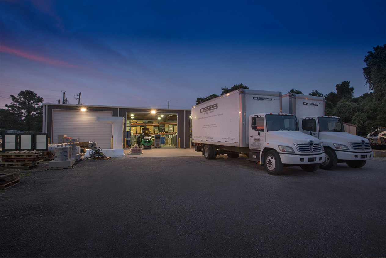 industrial location trucks warehouse Industrial Manufacturing Construction