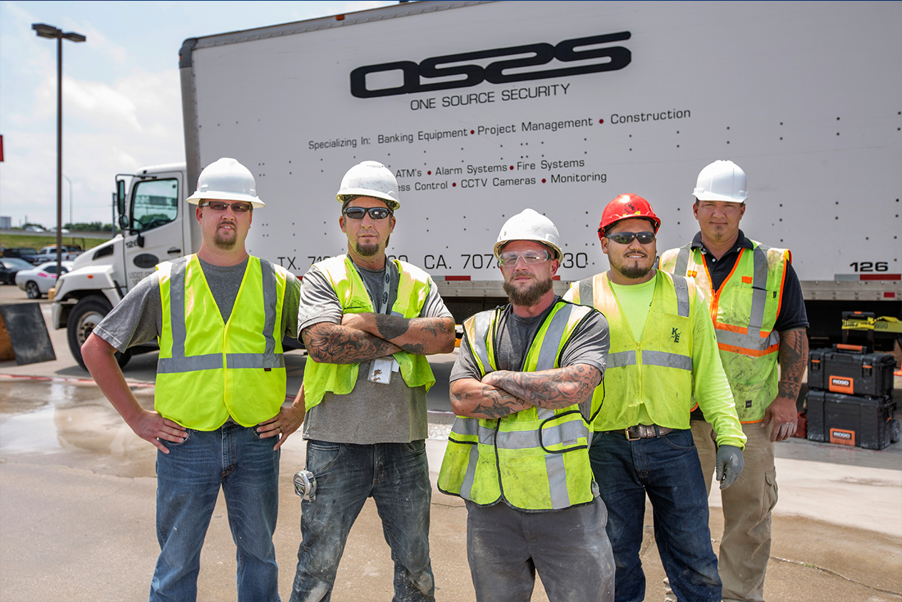 construction team portrait