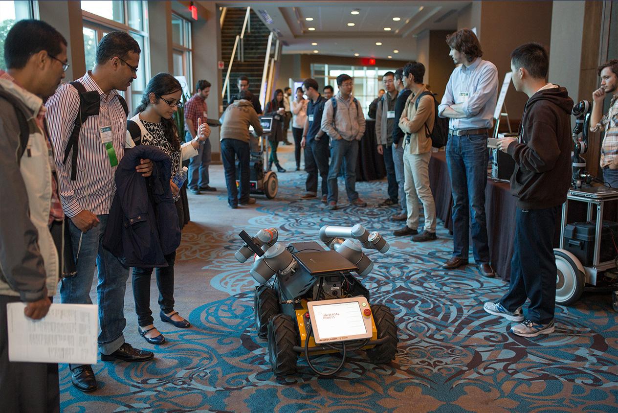 robotics convention Event Coverage
