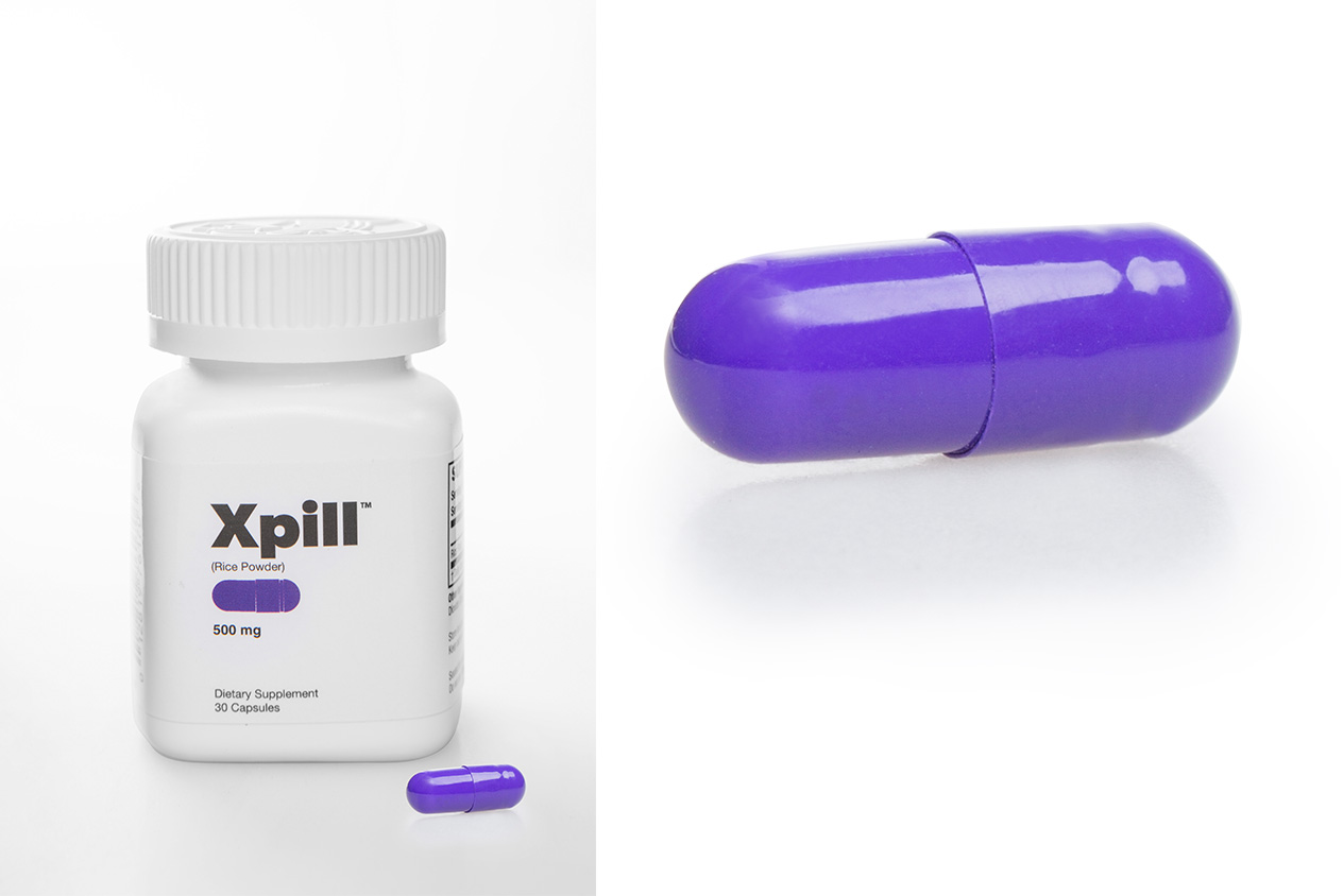 xpill product photography Product